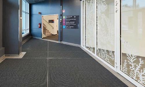 Eingangsbereich - Stecksystem für Gewerbe