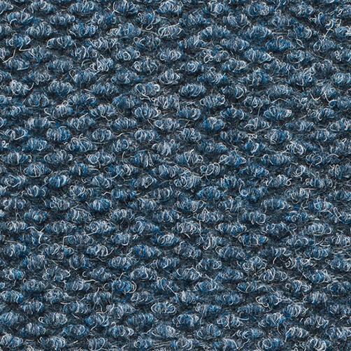 Fussmatte blau
