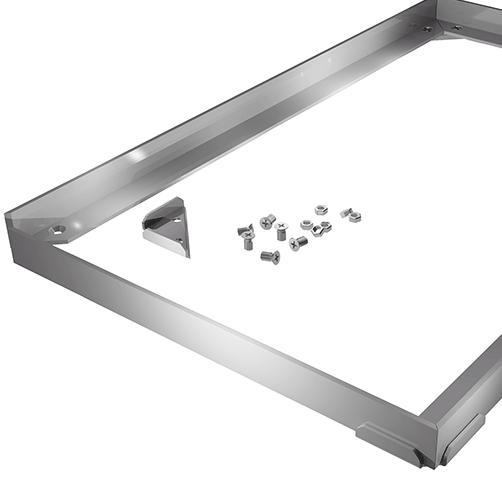 Aluminium Rahmen - Schmutzfang