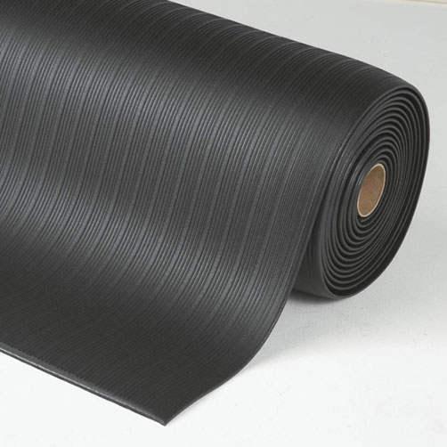 Antiermüdungsmatte-Airrug schwarz