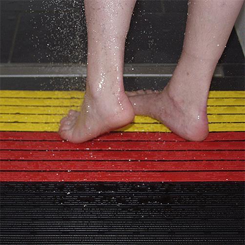 Duschrost in Sonderfarben
