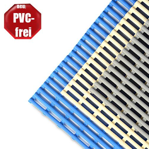 Barfussrost Thermolast in 3 Farben - PVC-frei