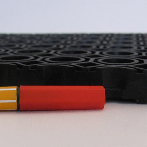 OctO-Flex von der Seite, Größenvergleich