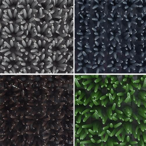 Kratzbürsten-allwettermatte 4 Farben