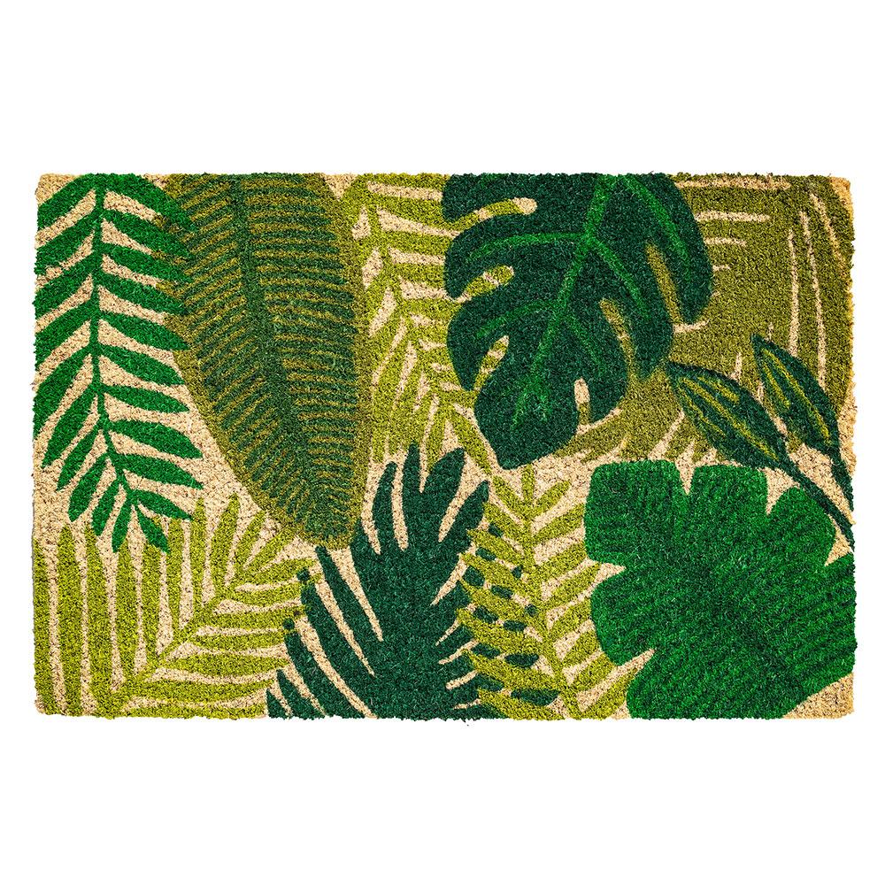 kokosmatte-green-leaves