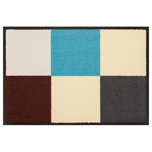 designmatte-quadra-blau-braun
